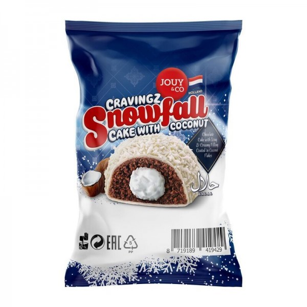 Snowfall Cake with Coconut