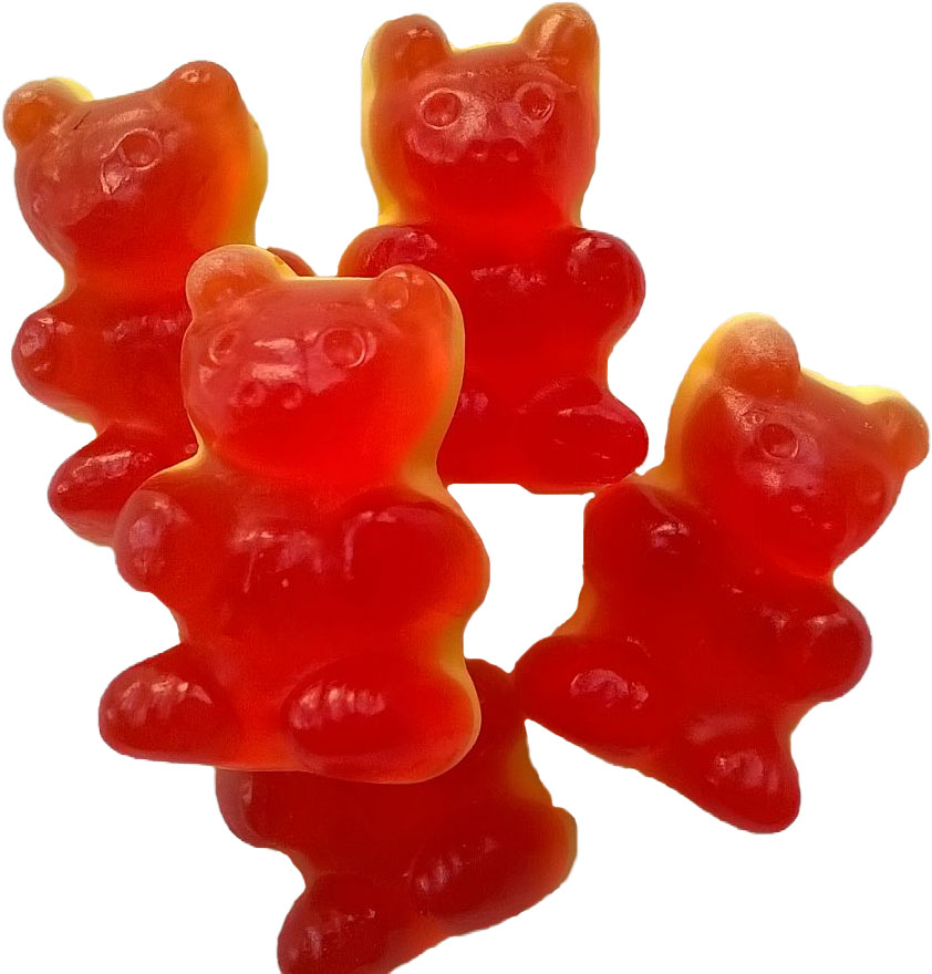 Rote Gummibären