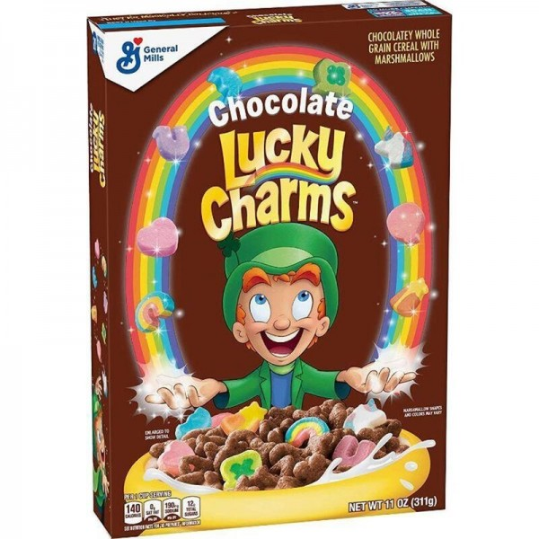 Lucky Charms - Chocolate - Cereal with Marshmallows