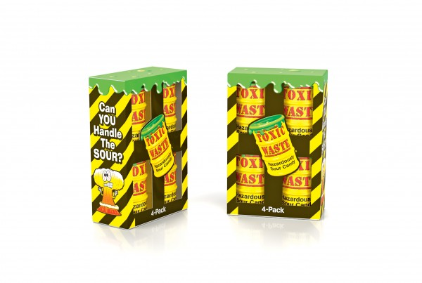 Toxic Waste 4-pack Yellow Drum