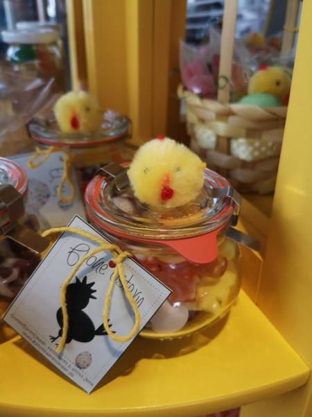 kleines Schmuckglas-Ostern (ca. 130 g)