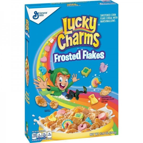 Lucky Charms - Frosted Flakes with Marshmallows