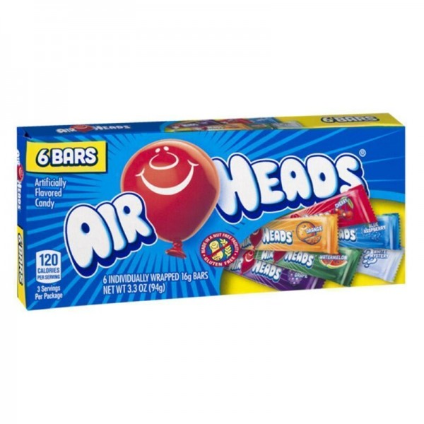 Air Heads Candy Theater Box 6 Bars