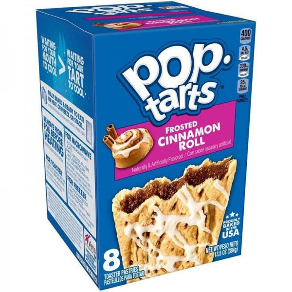 Kellogg's Pop-Tarts Frosted Cinnamon Roll