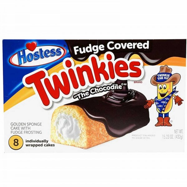 "Hostess Twinkies - Fudge Covered ""The Chocodile"""