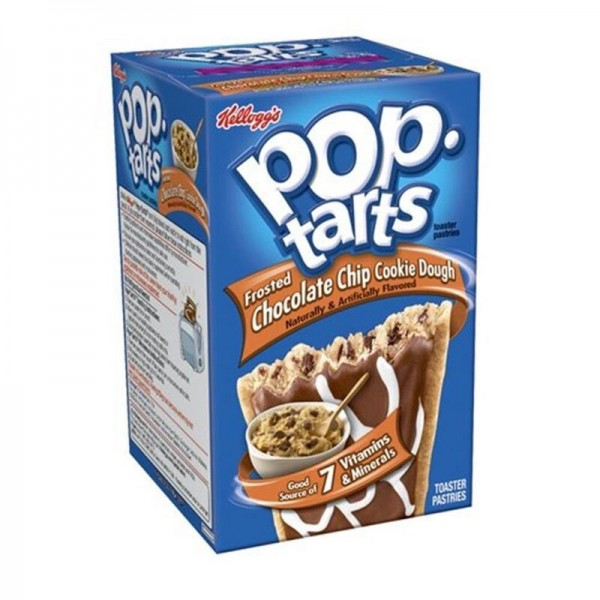 Kellogg's Pop-Tarts Chocolate Chip Cookie Dough Frosted
