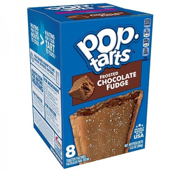 Kellogg's Pop-Tarts Frosted Chocolate Fudge