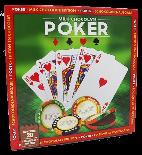 Poker Schokoladenspiel