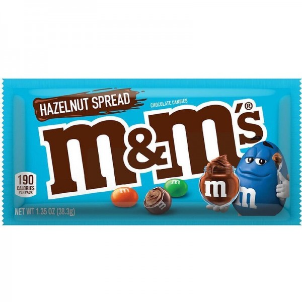 M&M's - Hazelnut Spread - chocolate candies