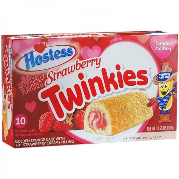 Hostess Twinkies - Strawberry