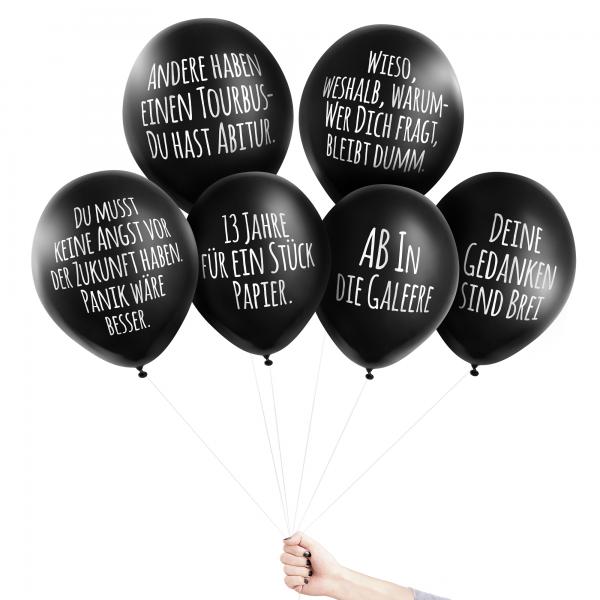 Anti-Ballons - Wahre Blödheit kommt von innen