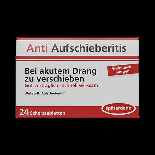 Anti Aufschieberitis - Bei akutem Drang zu verschieben