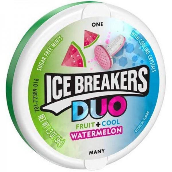 Ice Breakers Duo Fruit + Cool Watermelon - Zuckerfrei